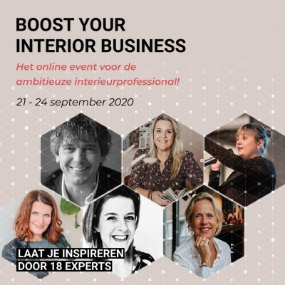 Boost your interior business - online event - MELD JE HIER AAN